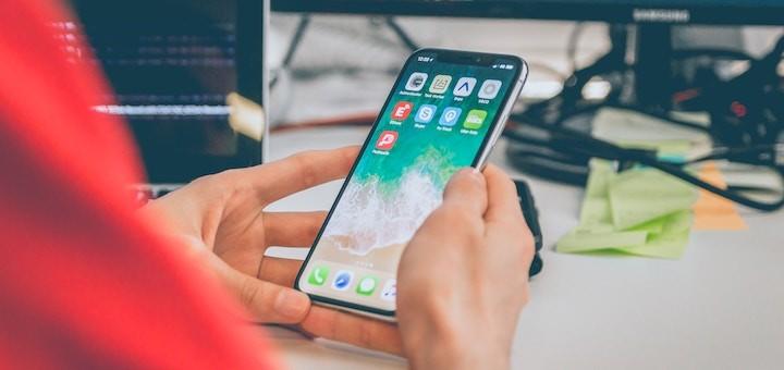 Evolución participación de mercado de smartphones entre 2016 y 2017