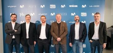 Lanzamiento oficial de Movistar Series en el Espacio Fundación Telefónica de Madrid. Imagen: Telefónica.