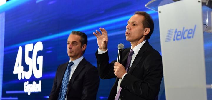Presentación de la red GigaRed de Telcel. Imagen: Telcel