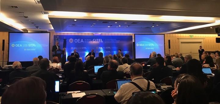 """Encuentro de Alto Nivel: """"Inclusión Digital para el Desarrollo en las Américas"""". Imagen: TeleSemana.com"""