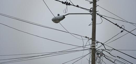 Postes de energía eléctrica. Imagen: Anatel.