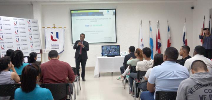 Asep presenta avances en TDT. Imagen: Asep Panamá.