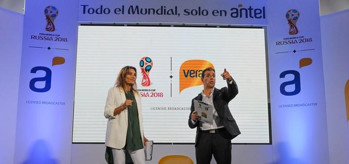 Antel transmitirá el Mundial de Fútbol para móviles. Imagen: Antel.