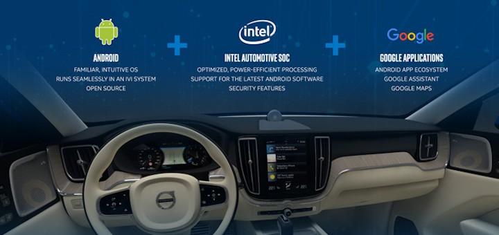 Intel ayuda a Volvo a instalar en sus vehículos la próxima generación de entretenimiento basado en Android