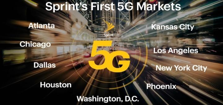 Sprint lanzará 5G en 2,5GHz en 2019, en preparación implementar Massive MIMO para LTE