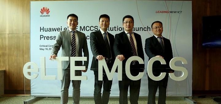 Huawei lanza sistema de comunicaciones críticas multimedia eLTE