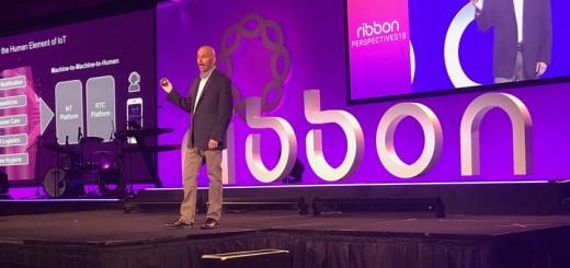 Kevin Riley, CTO de Ribbon Communications. Imagen: TeleSemana.com