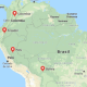 Comunidad Andina. Imagen: Google Maps.