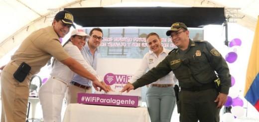 Zonas Wi-Fi en Colombia. Imagen: Ministerio de TIC.