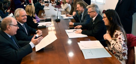 Plenario las comisiones de Sistemas, Medios de Comunicación y Libertad de Expresión. Imagen: Senado de la Nación