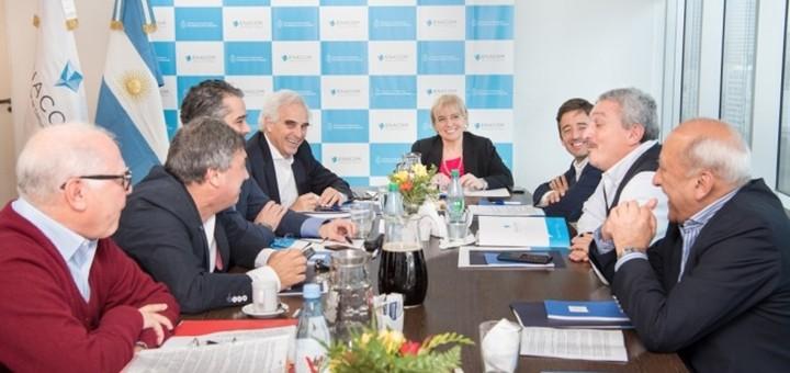 Reunión del directorio de Enacom. Imagen: Enacom