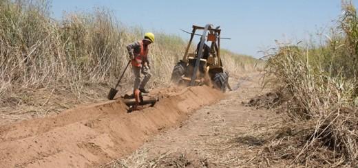 Trabajos de Arsat en La Pampa. Imagen: Arsat.