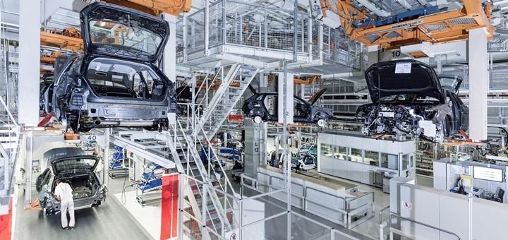 Fábrica de Audi en Ingolstadt. Imagen: Audi