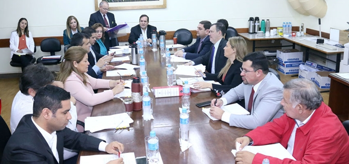 Comisión resuelven dictamen favorable. Imagen: Cámara de Diputados de Paraguay.