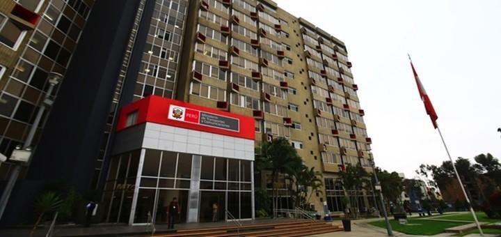 Ministerio de Transportes y Comunicaciones. Imagen: MTC Perú.