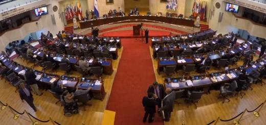 Aprueba continuidad de leyes transitorias en ley Penitenciaria de El Salvador. Imagen: Asamblea Legislativa.
