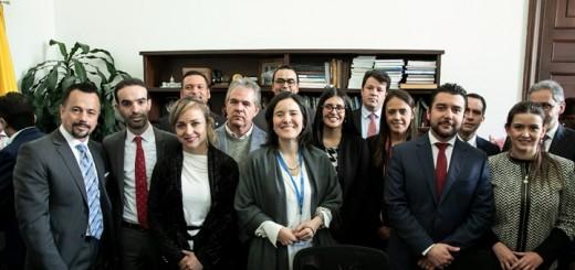 Presentación de la Ley de Modernización del sector TIC. Imagen: Mintic Colombia