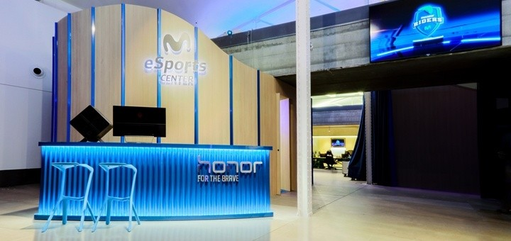 Movistar eSports Center, en Madrid. Imagen: Movistar.