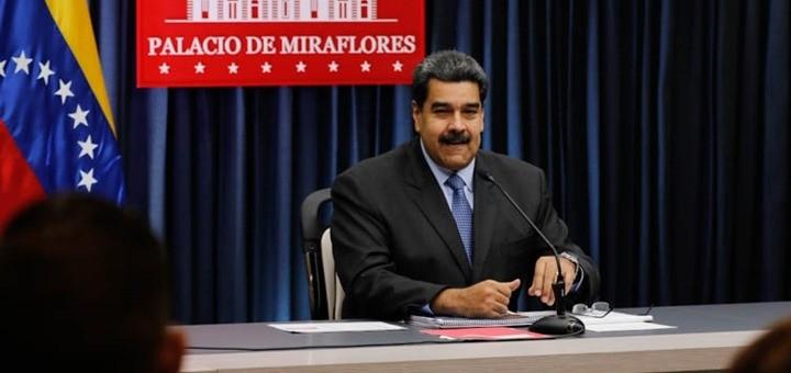 Nicolás Maduro. Imagen: Ministerio del Poder Popular para la Comunicación y la Información de Venezuela.