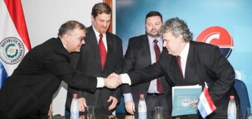 Sante Vallese asume como titular de Conatel. Imagen: Presidencia de Paraguay.