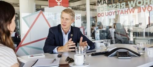 Mats Granryd, director General de GSMA conversa con TeleSemana.com. Imagen: GSMA