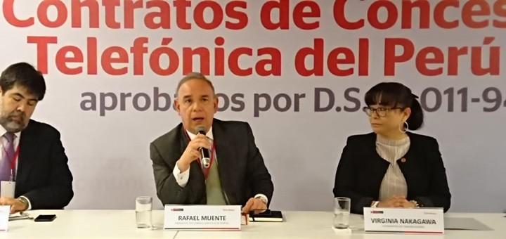 Peligra renovación de concesión de telefonía fija a Telefónica del Perú para 2027-2032