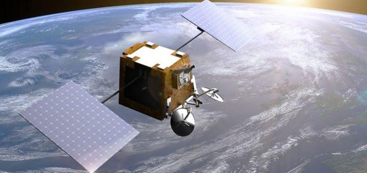 Satélite de OneWeb. Imagen: Arianespace