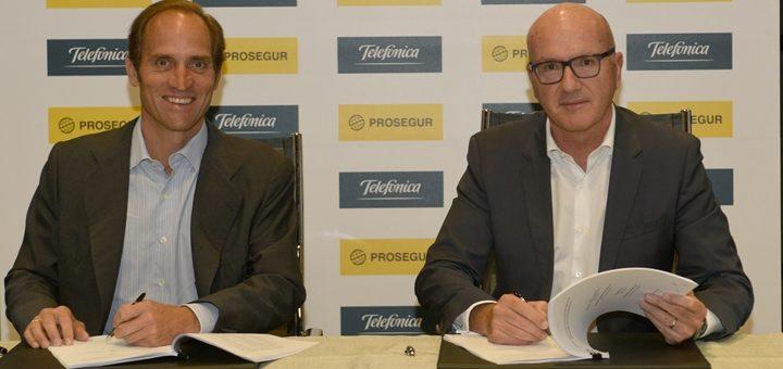 Telefónica España encuentra en Prosegur otro aliado para ganar el hogar