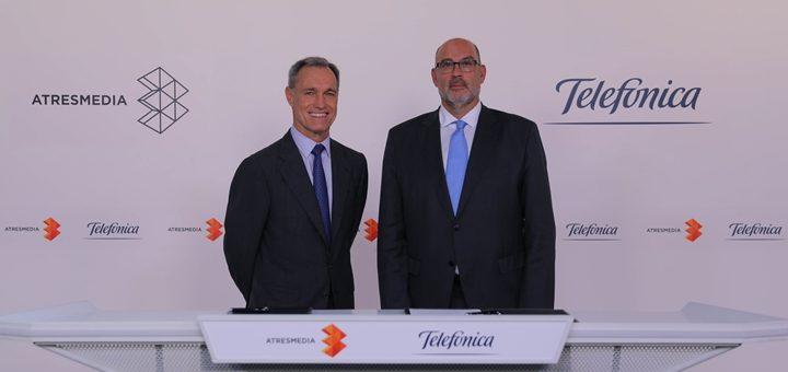 Telefónica encuentra en Atresmedia un socio para sumar contenido original en español